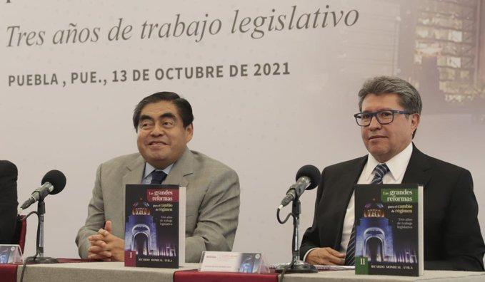 Sigue Puebla línea del gobierno de izquierda de López Obrador: MBH