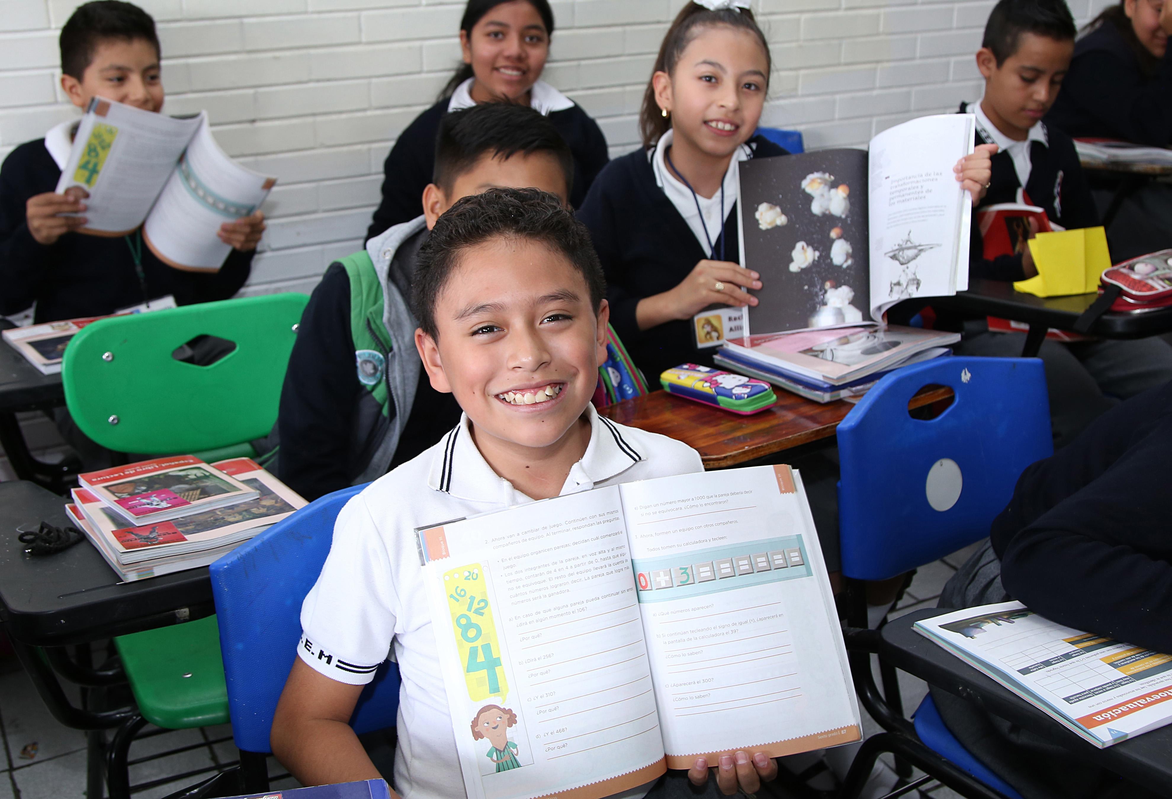 SEP concluye entrega de libros gratuitos para secundaria