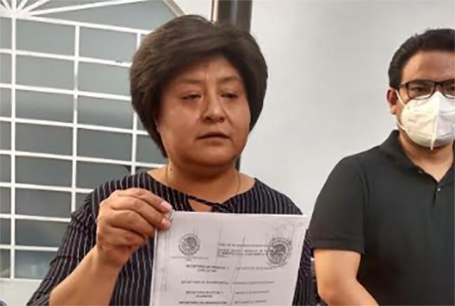 Niegan nuevo amparo a Ivonne Morales, ex líder sindical del ayuntamiento de Tehuacán