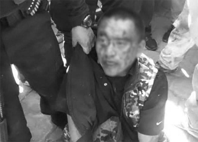 Casi linchan a sujeto que tomaba fotos a mujeres y niños en Tlahuapan