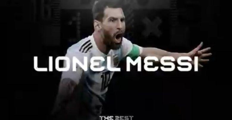 Messi gana el premio al Mejor Jugador por sexta ocasión