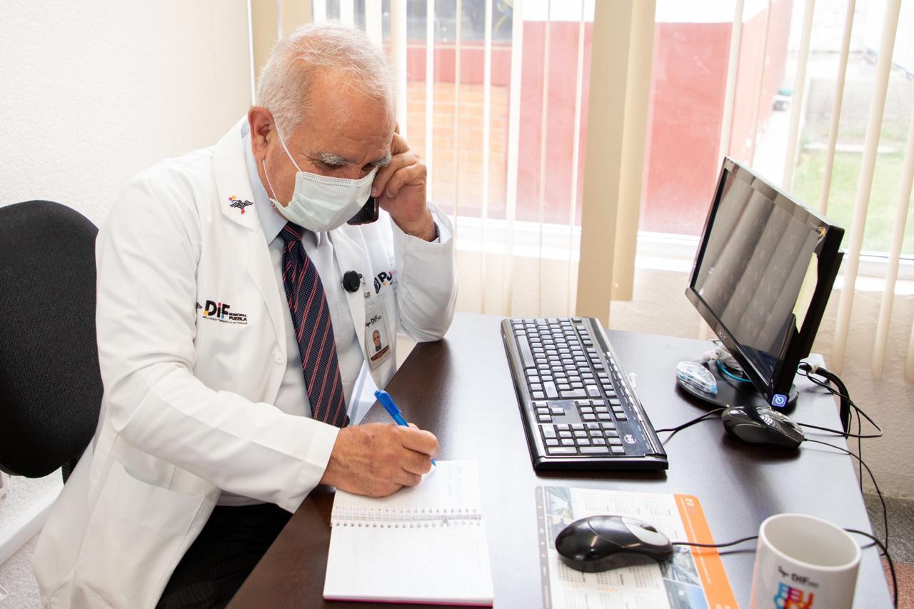 DIF de Puebla  ha recibido 124 llamadas por crisis de ansiedad ante pandemia