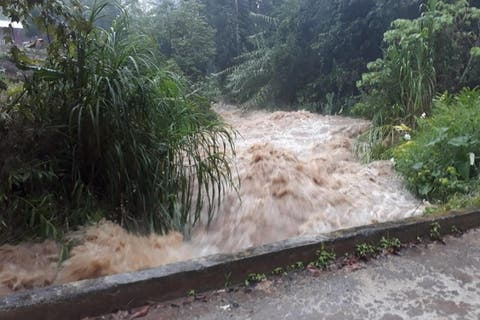 Afectan lluvias 30 municipios de Puebla