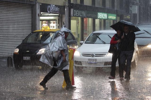 Alertas, porque las lluvias continúan en Puebla