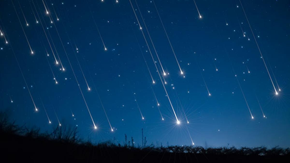 Los restos del cometa Halley producirán lluvia de estrellas en México