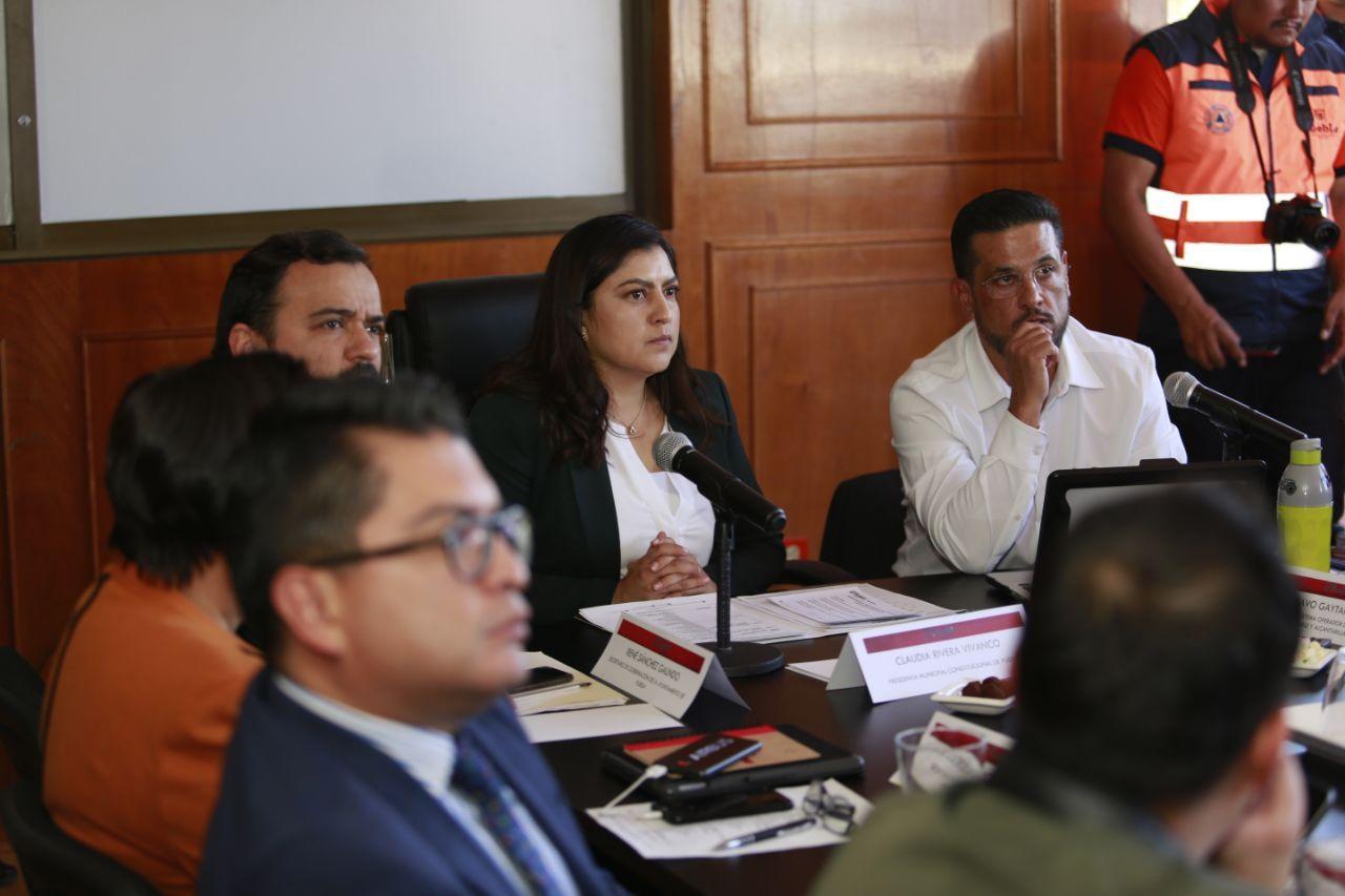 Sesiona la primera mesa del Comité de Lluvias 2020 en Puebla