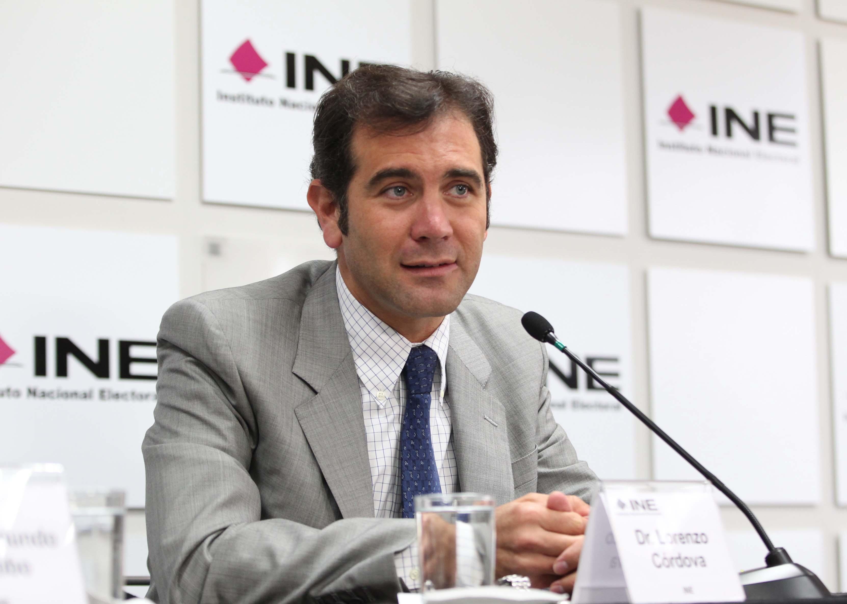 Estrategia de descalificación contra el INE no prosperará: Córdova