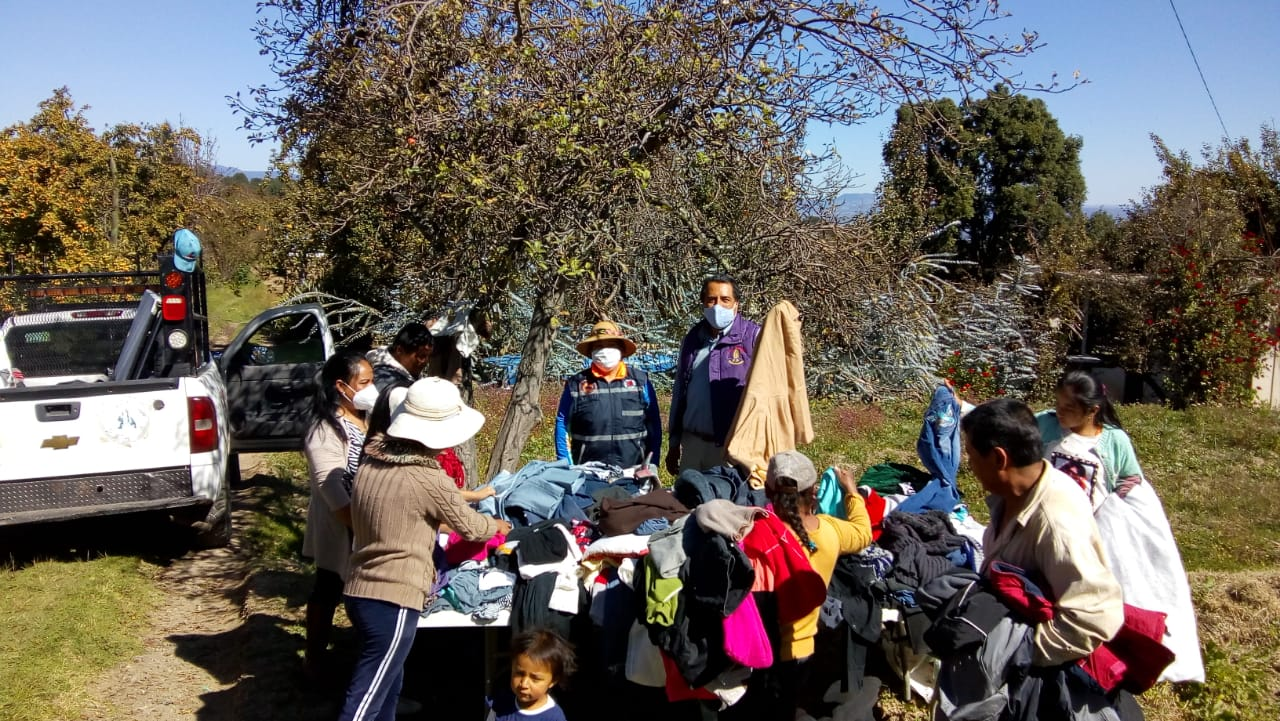 Chiautzingo, con más de 100 familias en situación de vulnerabilidad por frío