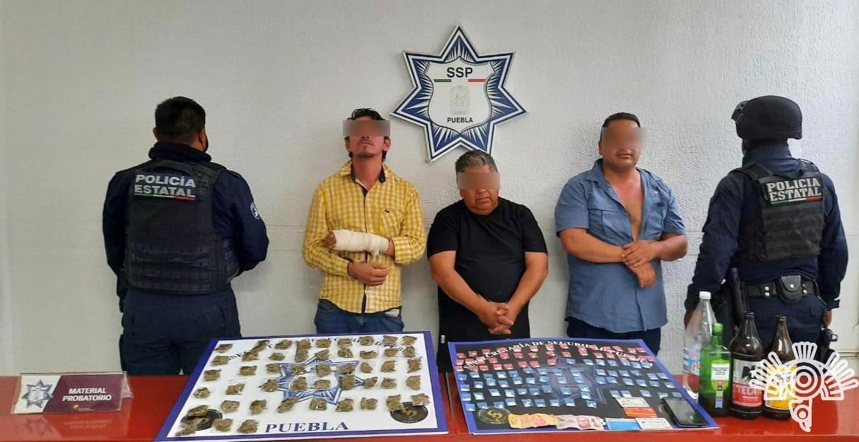 Caen presuntos narcomenudistas de Los Lavaderos