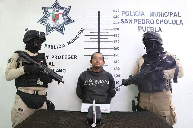Cae líder de la banda Los Parkas en Cholula