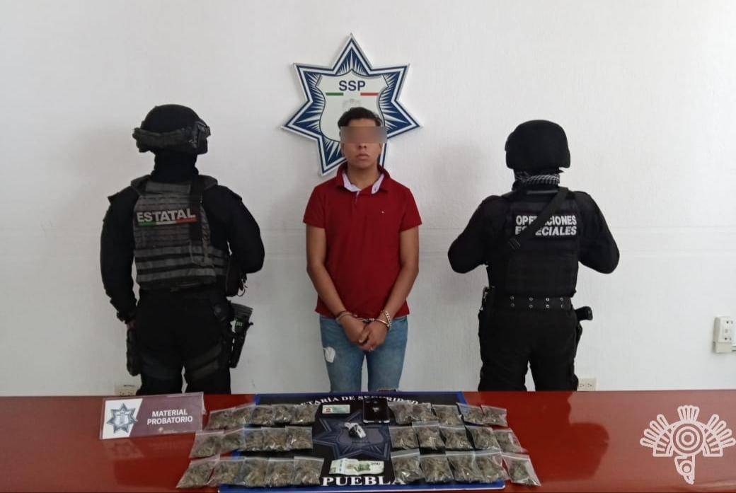Cae El Bruja, operador de Los Sinaloa en Cholula