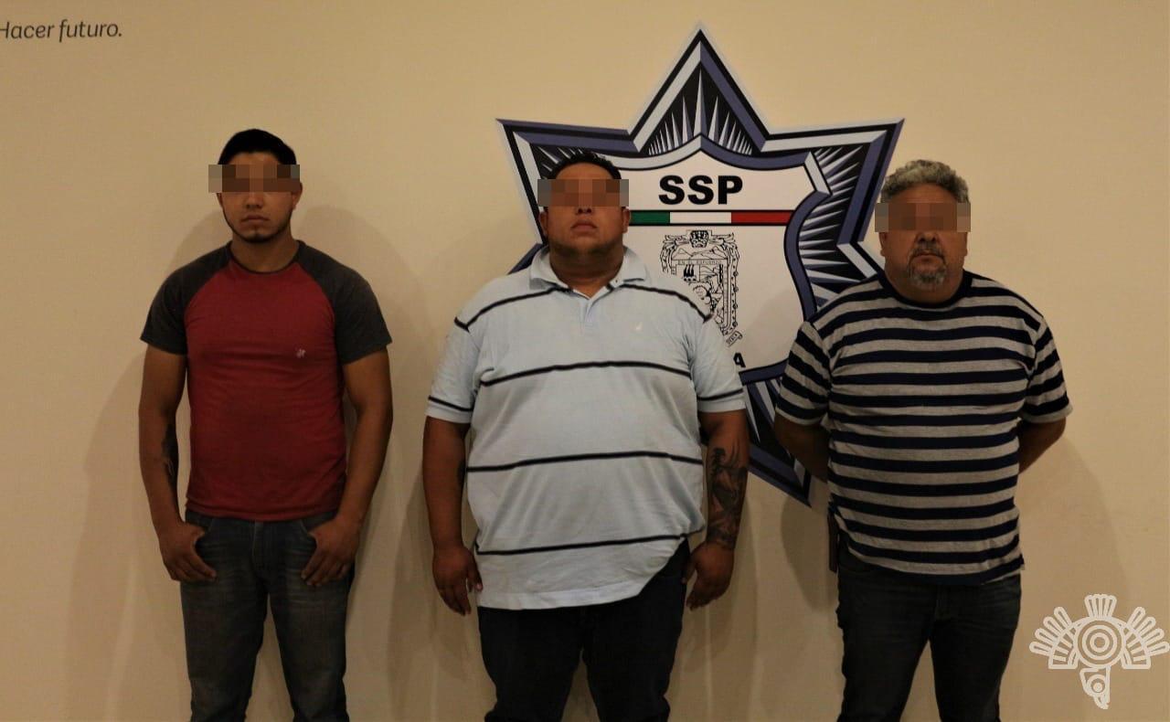 Cae la familia de Los Montana; roban vehículos y droga en Zacatlán