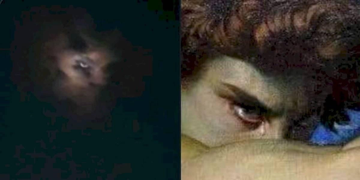 Se hace viral la supuesta imagen de Lucifer en el cielo