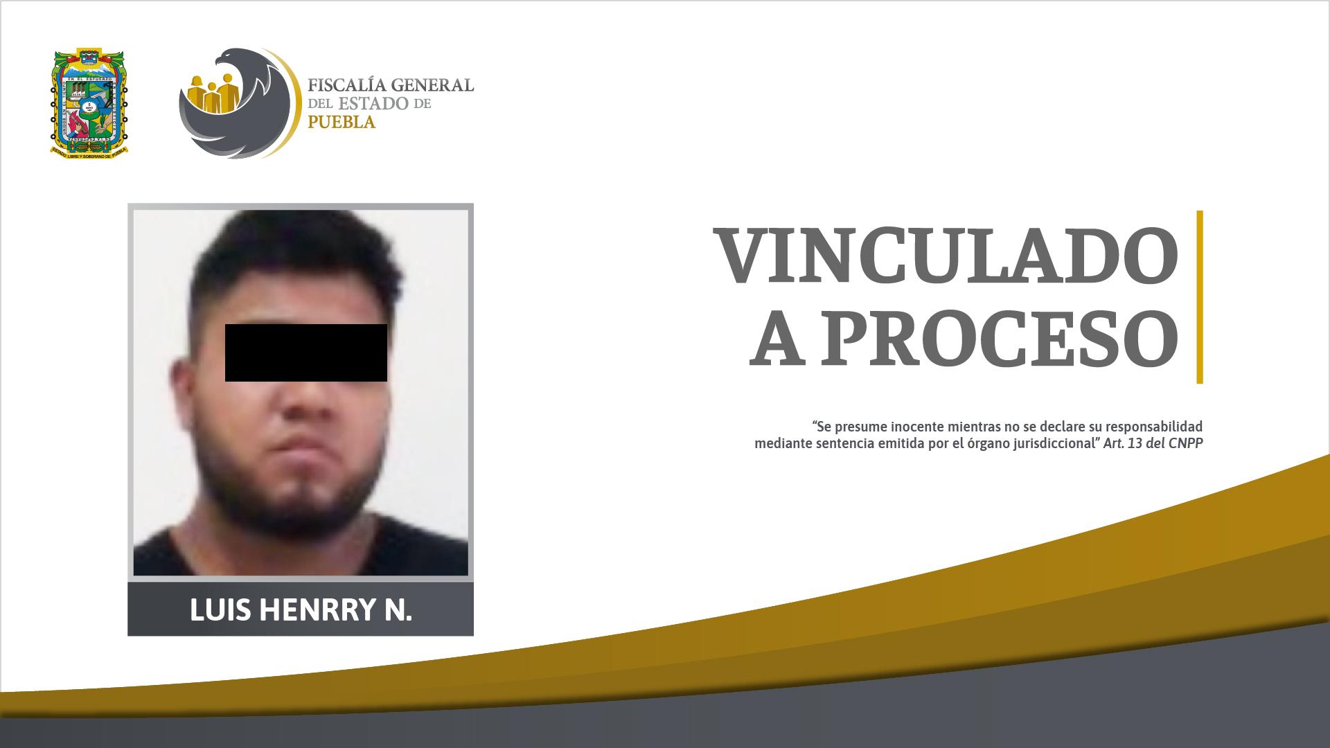 Mandan a prisión a Luis de 22 años por portar arma y droga en Texmelucan