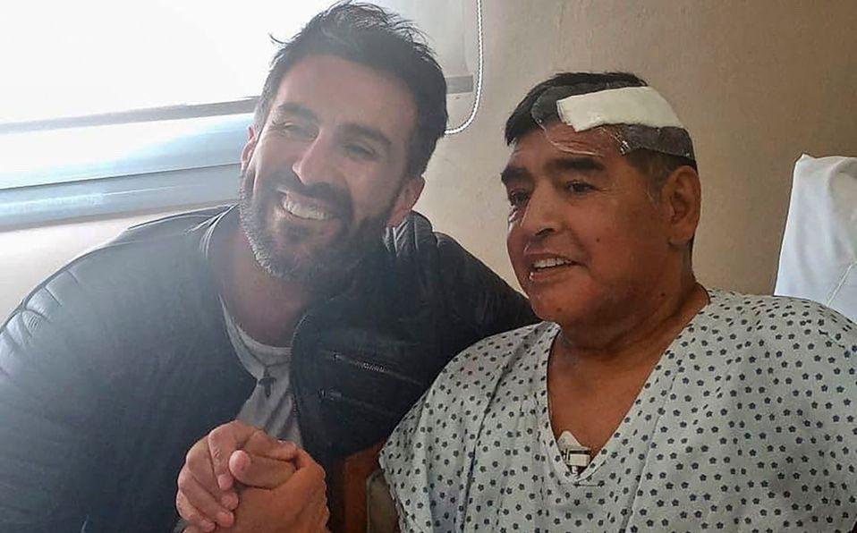 Esto es lo que encontraron en la habitación de Maradona, previo a su muerte