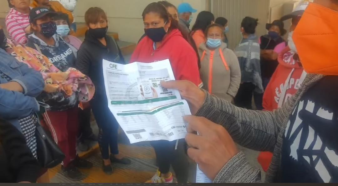 Con guardia ciudadana CFE realizará lectura de medidores en Texmelucan
