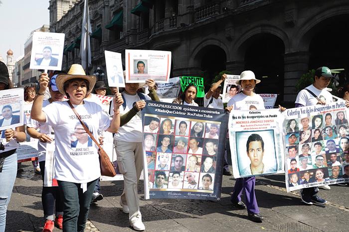 Solo queremos abrazar a nuestros hijos: madres de desaparecidos