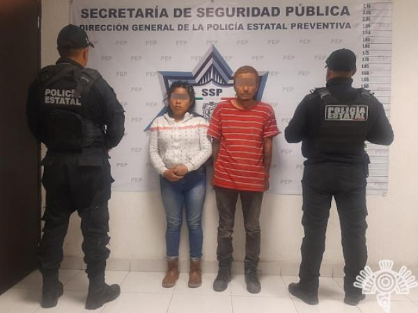 Cae La Madrina en calles de Puebla; llevaba 72 dosis de droga