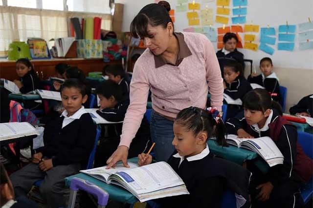 Pagará SEP Puebla incentivo a docentes de educación básica