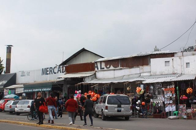 En 15 días inicia demolición del Mercado Amalucan pese a protestas