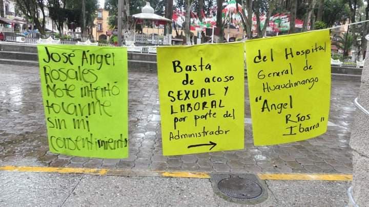Denuncian acoso sexual y laboral en hospital general de Huauchinango