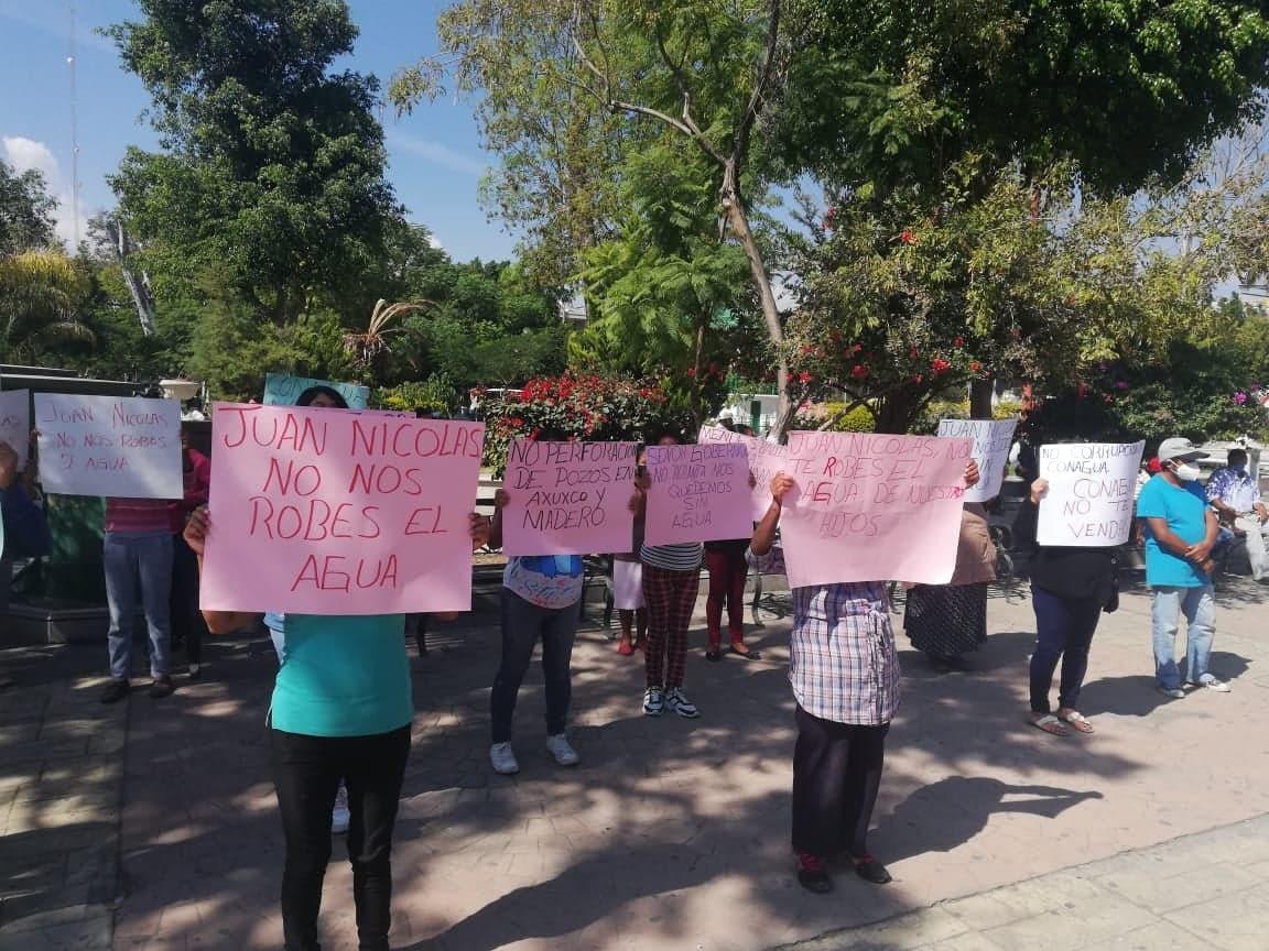 En Miahuatlán y Tepanco piden detener perforación de pozos clandestinos