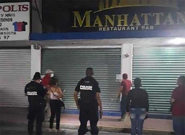 Clausuran bar de la zona centro de Izúcar por no acatar decreto