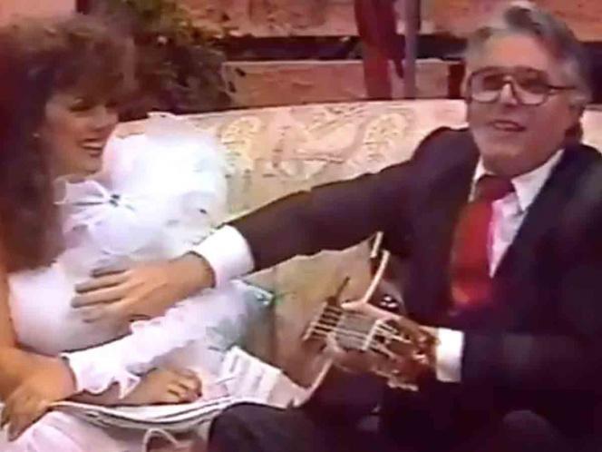 VIDEO Enrique Guzmán también manoseó a Verónica Castro