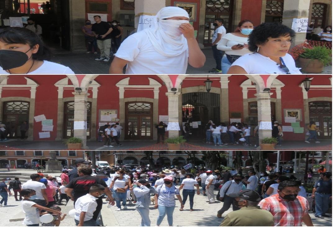 Marchan y exigen justicia por el asesinato del niño David en Huauchinango