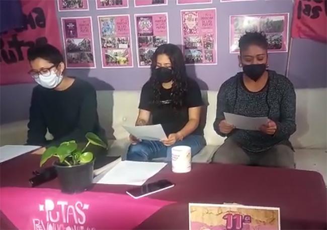 Anuncian Marcha de las Putas en Puebla para el 19 de octubre