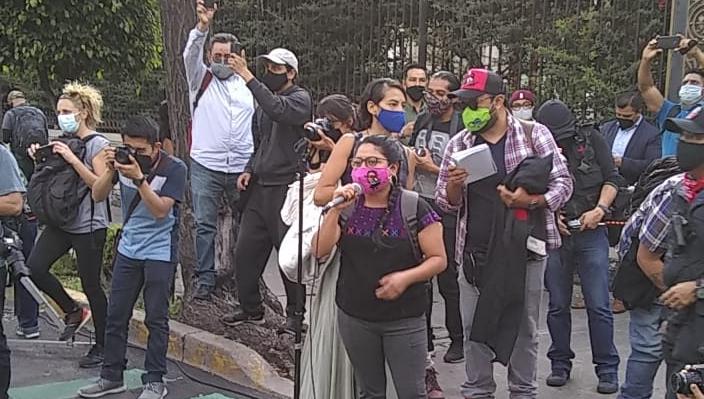 Exigen un alto a la violencia en Chiapas, marcharon organizaciones en CDMX