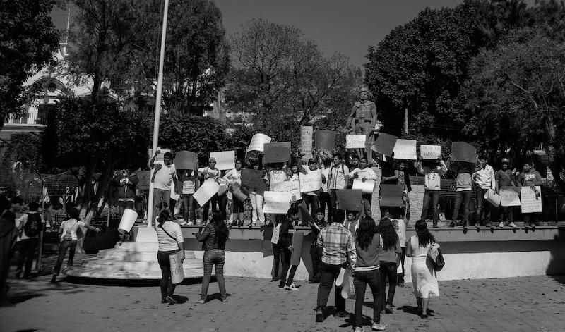 Convocan la Marcha por la paz de Tecamachalco