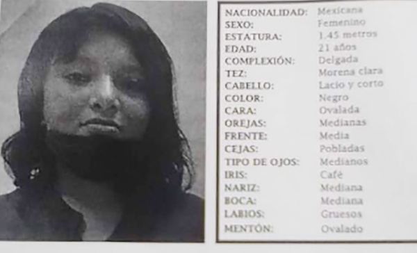 Mari Carmen desapareció en la colonia Guadalupe Hidalgo en Puebla