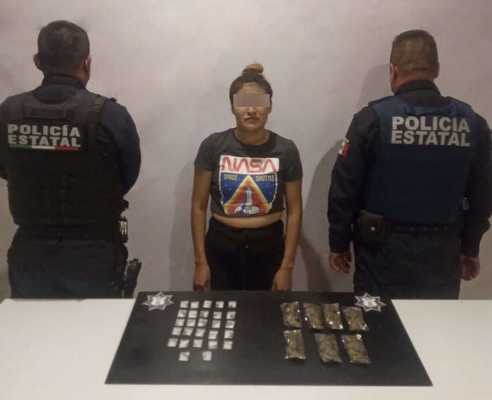 Cae La Marichuy en Altepexi; vendía droga para la banda de El Pollo