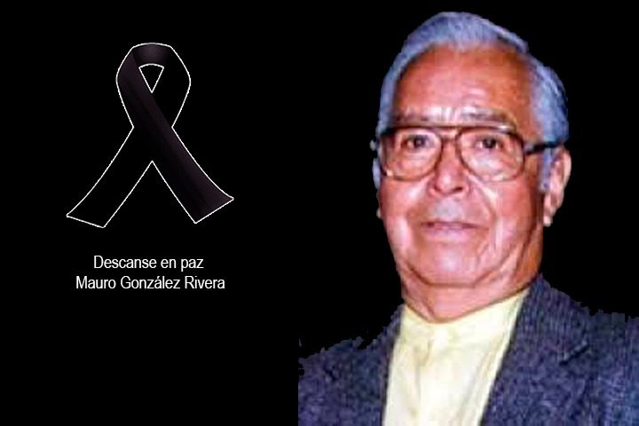 El periodista Mauro González, descansa en paz