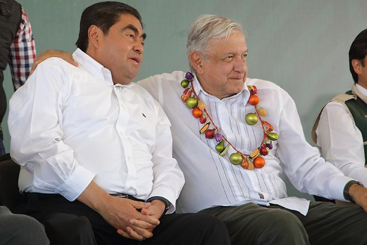 Gobierno de Barbosa tendrá total respaldo de la Federación: AMLO