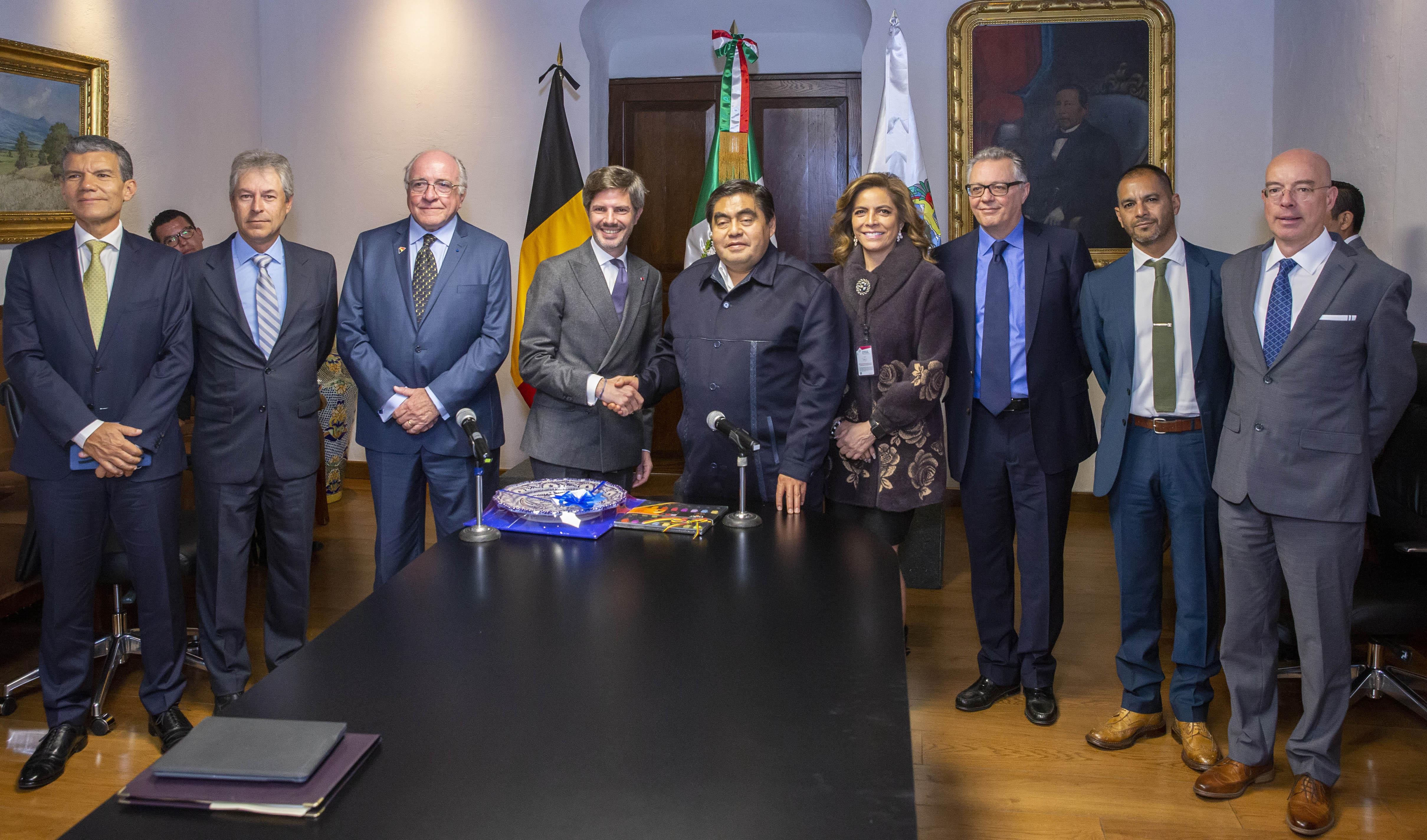 Goza Puebla de condiciones para desarrollo de empresas: Barbosa