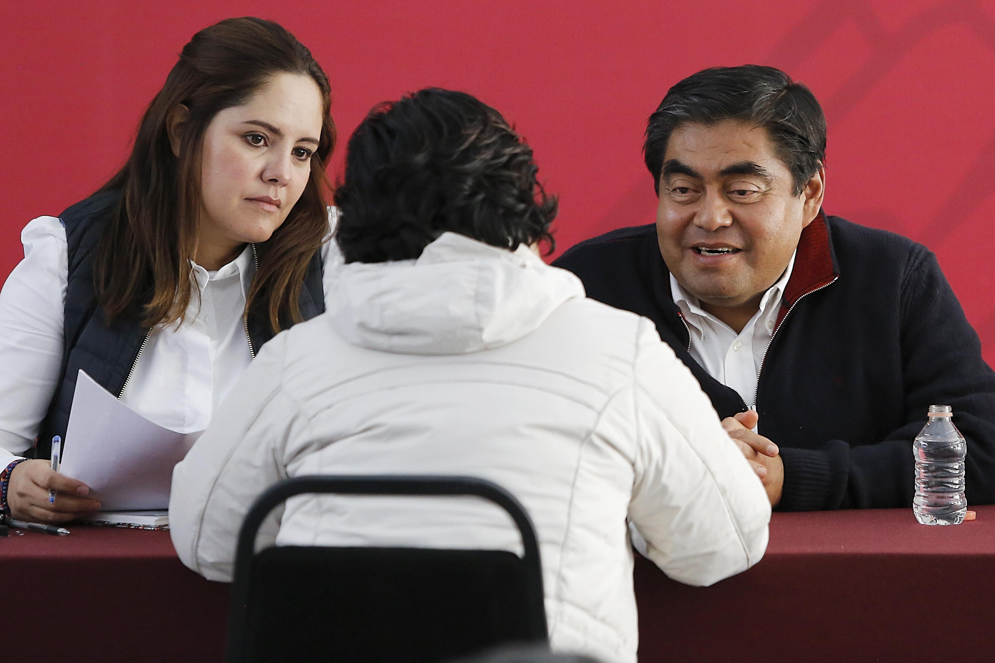 Piden asistencia jurídica y empleo a Barbosa en Jornada Ciudadana