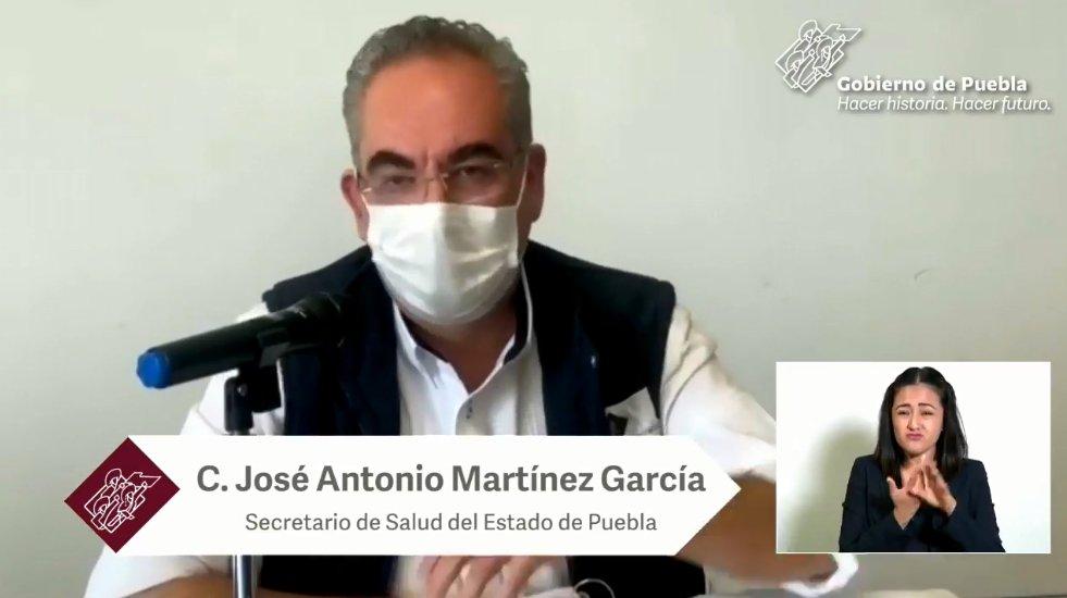 Puebla registra 672 positivos de Covid el fin de semana