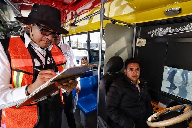 Multarán al transporte público con 3 mil pesos si no respetan sana distancia
