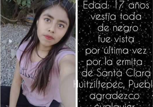 Melani de 17 años desapareció en Huitziltepec