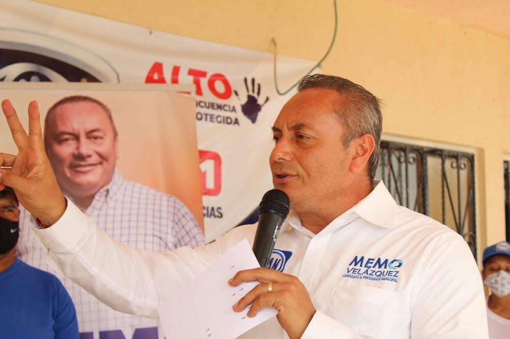 Memo Velázquez impulsará desarrollo económico de Atlixco