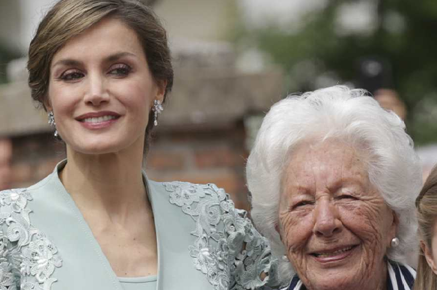 Muere la abuela de la reina  Letizia Ortiz