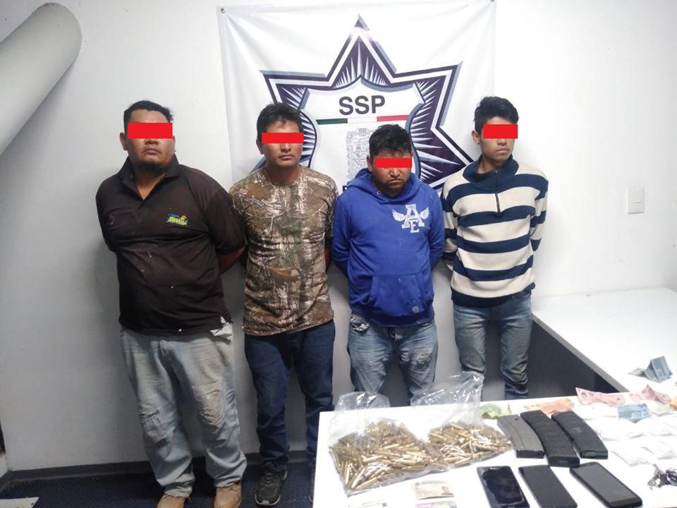 Caen por vender droga y armas; operaban en Tepeojuma y Atlixco