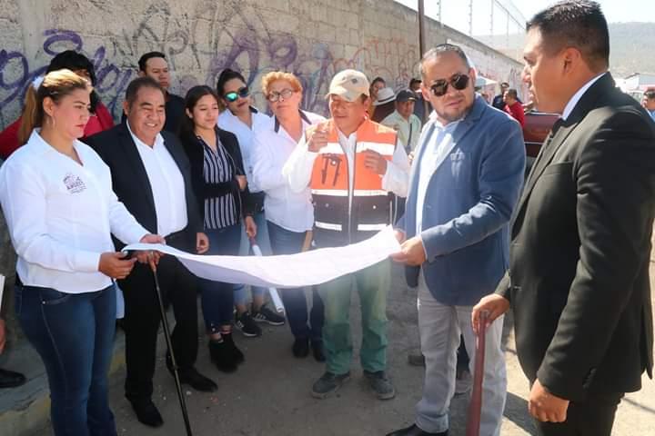 Inician mejoras en mercado municipal de Amozoc