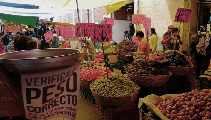 Sancionarán a tianguista que vendan kilos incompletos en Serdán