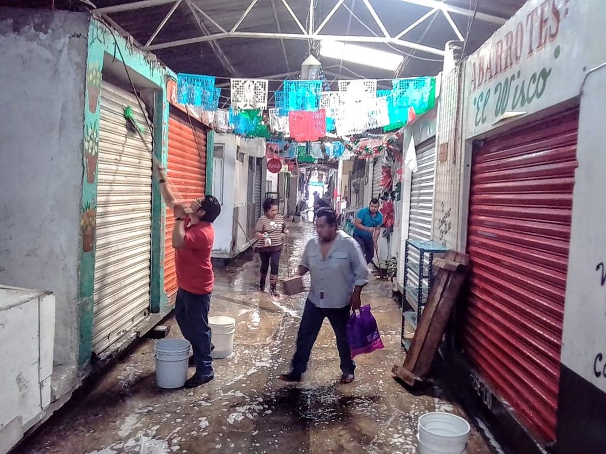 El 80% de los mercados de la capital poblana han sido sanitizados