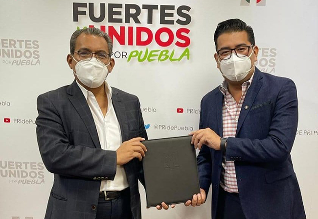 Jiménez Merino vence al Covid19 y es candidato del PRI a la diputación por Acatlán