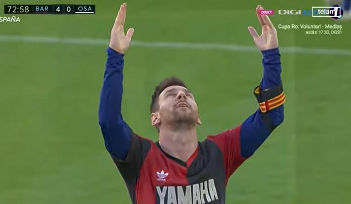 VIDEO Messi anota y rinde homenaje a Maradona