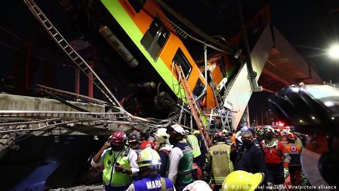 VIDEO Revelan videos de vagones y heridos tras desplome del Metro
